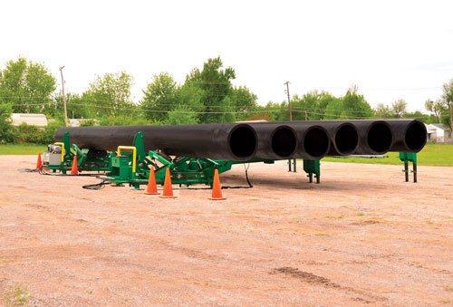 Méga supports hidrauliques pour tuyaux