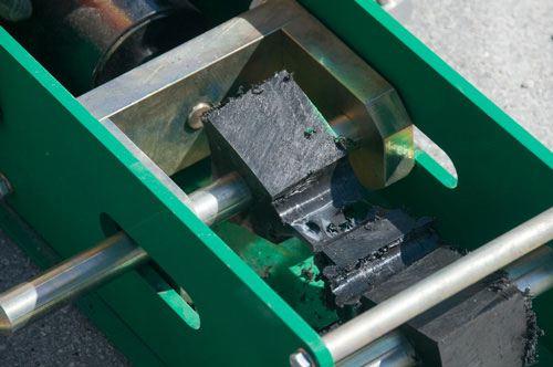 Tester pour vérifier la soudure de tuyau